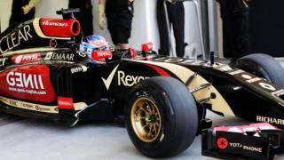 Lotus 2014 Formula 1 car