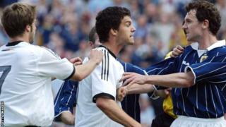 Scotland last faced Germany in 2004