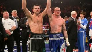Carl Froch and George Groves