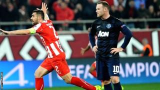 Giannis Maniatis celebrates