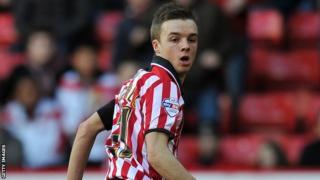 Sheffield United midfielder Stefan Scougall