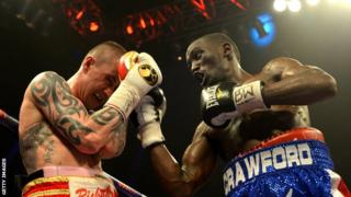 Ricky Burns and Terence Crawford