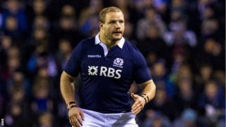 Scotland's Euan Murray
