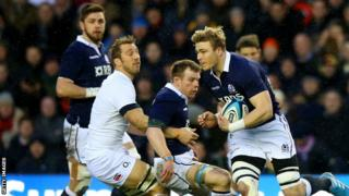 Dave Denton is back in the Scotland line-up