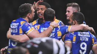 Leeds Rhinos celebrate