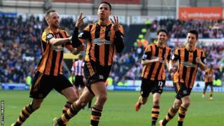 Hull City defender Curtis Davies