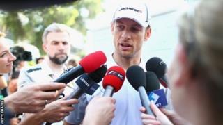 McLarem driver Jenson Button