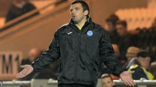 St Johnstone assistant manager Callum Davidson