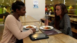 Denise Lewis meets Eilish McColgan