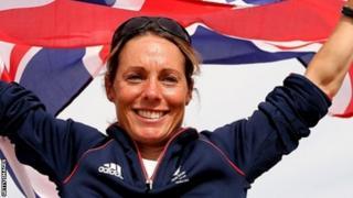 Paralympic sailor Helena Lucas