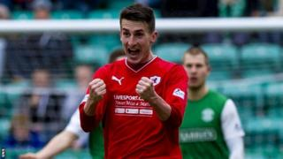 Raith Rovers' Grant Anderson
