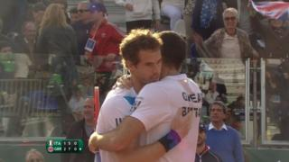 Murray & Fleming give GB Davis Cup lead