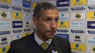 Norwich lacked quality against West Brom - Chris Hughton