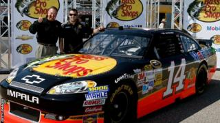Stewart-Haas team compete in Nascar series in the United States