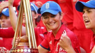 England women's captain Charlotte Edwards has been named as one of Wisden's Cricketers of the Year for 2014