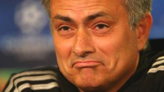 Chelsea manager Jose Mourninho
