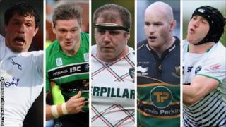 Dominic Barrow, Calum Green, Neil Briggs, Sam Dickinson, Stevie McColl (l-r)