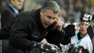 Paul Adey guided the Giants to this season's Elite League title
