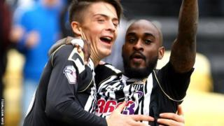 Notts County's Campbell-Ryce