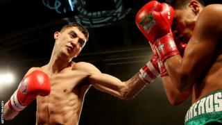 Andrew Selby in British Lionhearts action