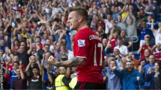 Cardiff fans applaud Aron Gunnarsson after his goal against Manchester City earlier in the season