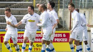 Morton beat Dundee 1-0 at Cappielow