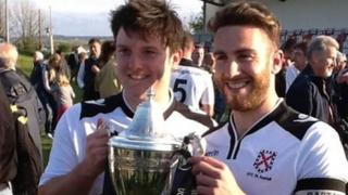 St Austell celebrate their cup triumph