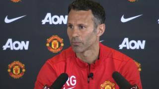 "Manchester United interim manager Ryan Giggs' ""proudest moment"""