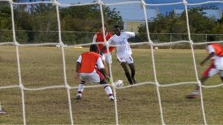 Turks and Caicos Islands team in training