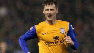 Paul Gallagher scored his fourth goal in two games for Preston.