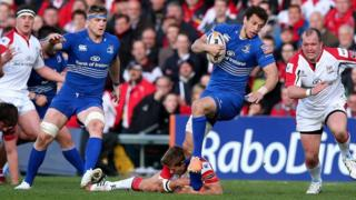 Leinster beat Ulster in the Pro12 match at Ravenhill
