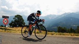 Team Sky rider Peter Kennaugh