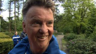 Louis Van Gaal says he 'would love' Manchester United job