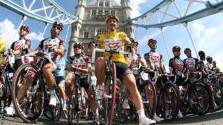 The Tour de France Grand Depart