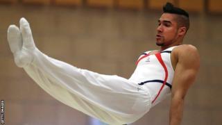 Gymnast Louis Smith