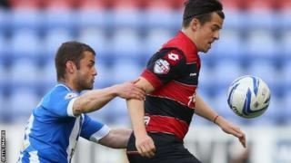 Shaun Maloney gets to grips with Joey Barton