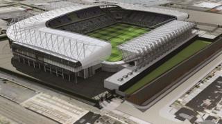 Windsor Park stadium plan