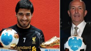 Luis Suarez and Tony Pulis