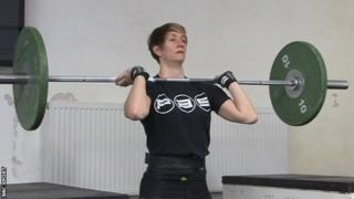 Michaela Breeze training