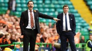 Jackie McNamara and Tommy Wright