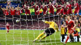Aberdeen won the Scottish League Cup final