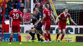 Aberdeen v Motherwell