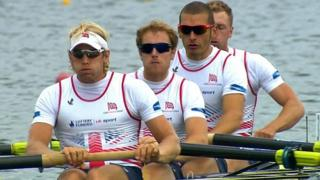 Dominant GB win gold in men's fours