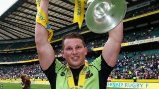 Northampton and England hooker Dylan Hartley