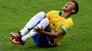 Neymar produced and received the most challenges in the Confederations Cup