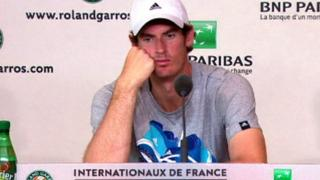 French Open: Andy Murray laments 'a bad day' after semi-final loss to Nadal
