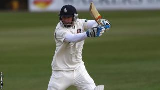 Batsman Darren Stevens in action for Kent