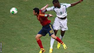 Nigeria's Elderson Echiejile will miss the 2014 World Cup