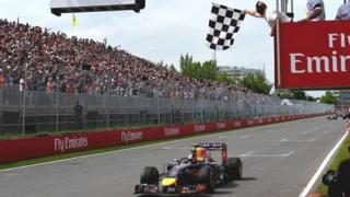 Red Bull's Daniel Ricciardo wins the Canadian Grand Prix