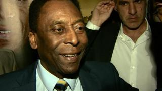 Brazil legend Pele on World Cup 2014